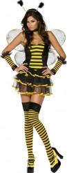 Sexy Bienen-Kostüm für Damen
