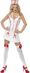 Sexy Krankenschwester-Kostüm für Damen