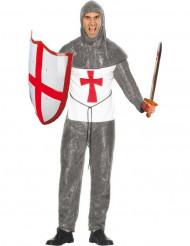 mittelalterliches Kreuzritter-Kostüm für Herren