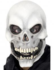 Skelettmaske für Erwachsene zu Halloween