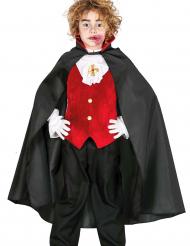 Halloween Dracula-Umhang für Kinder