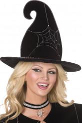 Hexenhut für Erwachsene Halloween Deluxe