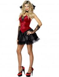 Sexy Vampir-Kostüm für Damen zu Halloween