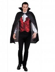 Vampirumhang Halloween schwarz für Erwachsene