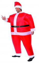 Aufblasbares Weihnachtsmann-Kostüm für Herren