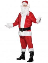 flauschig weiches Weihnachtsmann-Kostüm für Herren