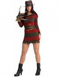 Miss Freddy Krueger™-Kostüm für Damen