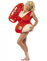 Pamela-Kostüm aus Baywatch™für Herren