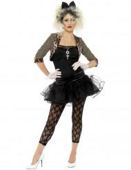 80er Jahre Rock-Kostüm für Damen
