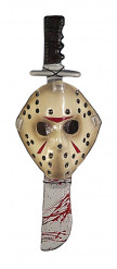Maske und Machete von Jason™ aus Freitag der 13.™