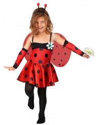 Marienkäfer-Kinderkostüm Tier-Verkleidung rot-schwarz