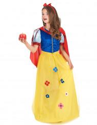 Zauberhaftes Märchenkostüm für Kinder blau-rot-gelb