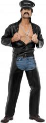 Motorradpolizisten-Kostüm des Village People für Herren