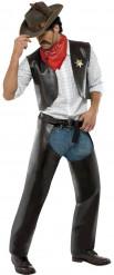 Cowboy-Kostüm der Village People für Herren