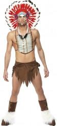 Indianer-Kostüm der Village People für Herren