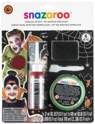 Snazaroo Special effects-Wunden-Set für Halloween