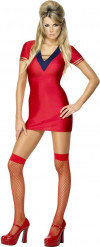 Sexy Kostüm für die Frau-aus-dem-All