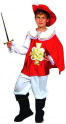 Musketier-Kinderkostüm für Jungen bunt