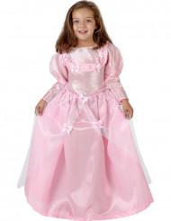 Prinzessinnen-Kostüm mit Schmetterlingen für Mädchen rosa