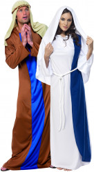 Maria und Joseph-Paarkostüm für Erwachsene