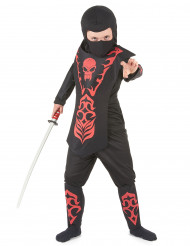 Ninja Kinderkostüm rot