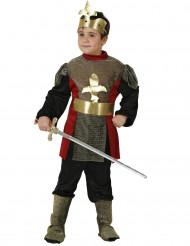Mittelalterliches Ritter-Kinderkostüm bunt