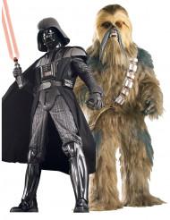 Darth Vader™ und Chewbacca™-Paarkostüm für Erwachsene Star Wars™
