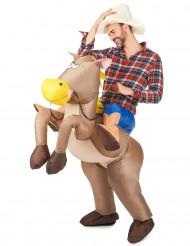 Reiter und Pferd - Kostüm für Erwachsene