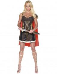 Sexy römische Gladiatorin-Kostüm für Damen