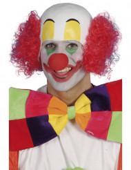 Rote Clownsperücke für Herren