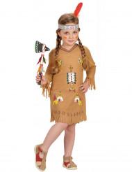 Mädchen-Indianerinnenkostüm bunt