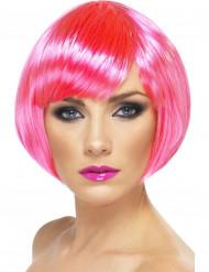 Damenperücke pink rosa