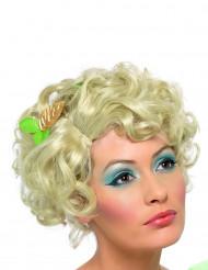 Feenhafte Märchen-Perücke Kurzhaar lockig blond