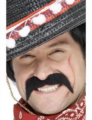 Schnurrbart eines mexikanischen Ganoven für Erwachsene