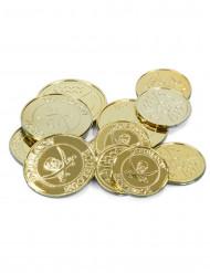Goldstücke des Piratenschatzes