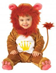 Süßes Löwen-Babykostüm Tier-Verkleidung braun