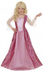 Glamouröses Prinzessin-Kostüm Barbara für Mädchen