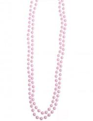 Plastik-Perlenkette rosa 110cm