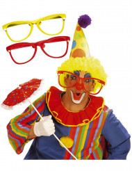 Riesige Clown-Brille für Erwachsene