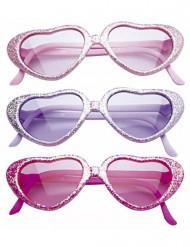 Glamouröse Brille mit Pailletten für Kinder