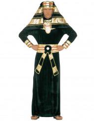 Pharao-Kostüm für Herren schwarz-rot-goldfarben