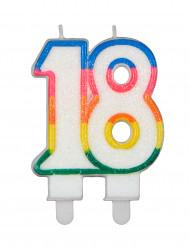 Geburtstags-Kerzen Zwei Ziffern