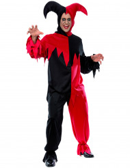 Narren-Kostüm Horror für Erwachsene