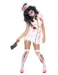 Zombiekrankenschwester-Kostüm für Damen zu Halloween