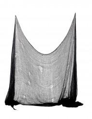 Schauerliches Halloween-Dekorationstuch schwarz 75x300cm