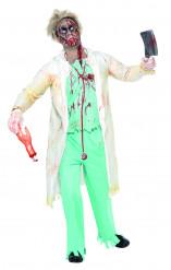 Zombie-Doktor-Kostüm Halloween für Herren