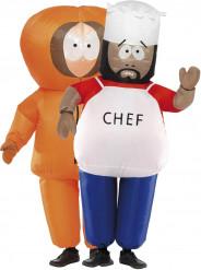 Chef™ und Kenny™-Kostüm aus South Park™ für Erwachsene