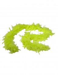 Fluo-gelbe Federboa