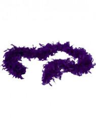 Federboa violett für Erwachsene