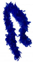 Federboa dunkelblau für Erwachsene